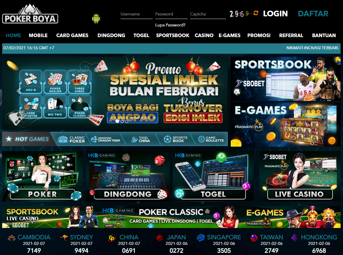 LINK ALTERNATIF POKERBOYA